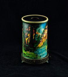 Vintage 1950's Econolite 'Forest Fire' Motion Lamp by BirneyCreek, $175.00