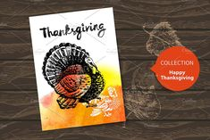 Thanksgiving Cards Templates Vector set of Thanksgiving cards with hand drawn and watercolor illustrations.Zip file contains ed by Elena Pimonova Pencil Illustration, Watercolor Illustration, Business Card Psd, Business Quotes, Thanksgiving Cards, Thanksgiving Graphics, Card Templates, Design Templates, Creative Sketches