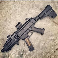 CZ Scorpion. #Want  | @jamesdollarhide | by daily_badass