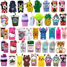 Cartoon Silicone Rubber Phone Case For Iphone 5 6 7 Plus Samsung 2015 Iphone 7, Coque Iphone 6, Iphone Phone Cases, Phone Covers, Disney Phone Cases, Diy Phone Case, Ipod Cases, Cute Phone Cases, Funda Iphone 6 Plus