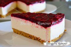 Cheesecake cu ciocolata si zmeura pregatit de Ramona Dascalu Romanian Food, Cheesecake, Food And Drink, Desserts, Recipes, Ideas, Pies, Tailgate Desserts, Deserts