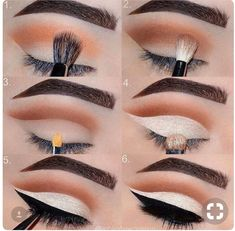 Eye Makeup Tips – How To Apply Eyeliner Hooded Eye Makeup, Eye Makeup Tips, Smokey Eye Makeup, Makeup Goals, Makeup Geek, Makeup Inspo, Eyeshadow Makeup, Makeup Addict, Makeup Inspiration