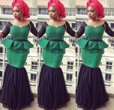 Latest Aso Ebi Styles for Ladies to Slay in WeddingsLatest Ankara Styles and Aso Ebi Styles 2020 African Print Dresses, African Dresses For Women, African Print Fashion, Africa Fashion, African Attire, African Wear, African Women, African Prints, African Lace