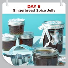 25 Days of Christmas Cheer :: Day 9 :: Gingerbread Spice Jelly Recipe