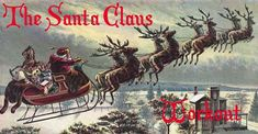 """The Santa Claus Workout [VIDEO]"""