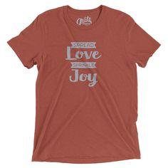 spread love sprinkle joy t-shirt