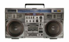 Vintage boombox.  The Boombox Project: Photos by Lyle Owerko .....................Please save this pin.   .............................. Because for vintage collectibles - Click on the following link!.. http://www.ebay.com/usr/prestige_online