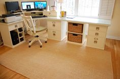 I want a rug like this, it should be easy to maintain and clean, doesn't get rolled on the corners or move from its place, looks smart and simple.