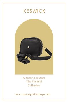 As part of the Cartmel Collection by Foxfield Leather, this crossbody bag in buttersoft leather is available in black, oxblood or rich brown. Oxblood, Sling Backpack, Crossbody Bag, Backpacks, Handbags, Purses, Wallet, Brown, Leather