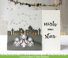 Upon a Star Critter Card by Karin! | Lawn Fawnatics