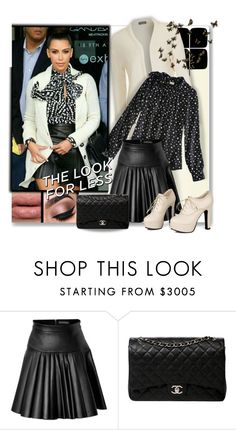 """""""KK's Look For Less"""" by wanda-india-acosta ❤ liked on Polyvore featuring David Koma, Chanel, Sidewalk, women's clothing, women's fashion, women, female, woman, misses and juniors"""