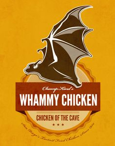 Chicken of the Cave Anchorman 2 by noodlehug on Etsy