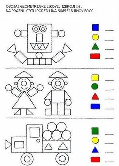 activities math preschool / activities math for kids activities math preschool activities math Preschool Learning Activities, Preschool Activities, Shape Activities, Preschool Writing, Kindergarten Math Worksheets, Math For Kids, Kids Education, Barn, Shapes Worksheets