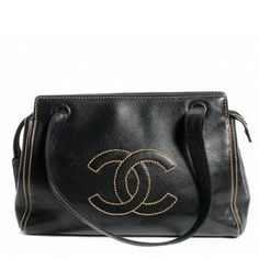 Chanel Caviar Cc In Shoulder Bag $1,950