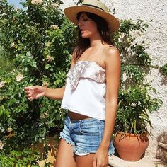 Ana Albadalejo - Camiseta Colette by Olivia de Gala
