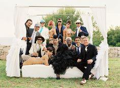 roaring 20's speakeasy ibiza wedding