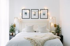 how to add holiday decor to your bedroom