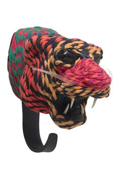 Recycled Clothing Tiger Hook