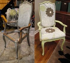 I got to get my chairs done this blog is going to help me!