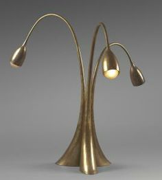 Philippe Hiquily - Lampe Tripode