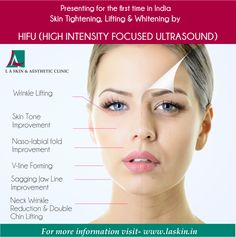 HIFU treatment can give your skin the lift you have always wished for. Book an appointment with L A Skin for HIFU treatment and get a discount of Rs 10,000! (valid upto 15th April,2016)