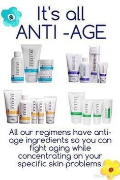 WIN WIN.. All of R+F are anti-age, so they will help with wrinkles while fixing the issue!