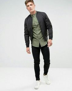 Latest Fashion Clothes, Latest Fashion Trends, Fashion Online, Asos Online Shopping, Bomber Jacket, How To Wear, Jackets, Shirts, Urban