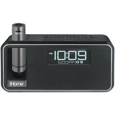 Ihome Dualcharging Bluetooth Stereo Alarm Clock Radio And Speakerphone With Nfc Amp Removable Power Black