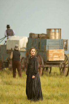 Naomi Wheeler - Keri Russell in Into the West, set between 1825 and 1890 (TV mini-series 2005).