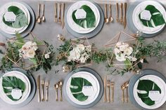Emerald & gold wedding