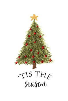 tis the season free christmas printable.jpg - Box