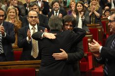 Carles Puigdemont instated as the new Catalan President - catalannewsagency.com, 10 January 2016