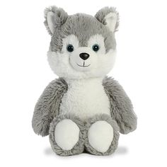 It's important to choose your friends wisely but even more important to choose them cuddly! The Stuffed Husky Cuddly Friends Plush by Aurora is a perfect example. Raining Cats And Dogs, Dog Friends, Aurora, Husky, Little Girls, Dog Cat, Plush, Stuffed Toys, Teddy Bears
