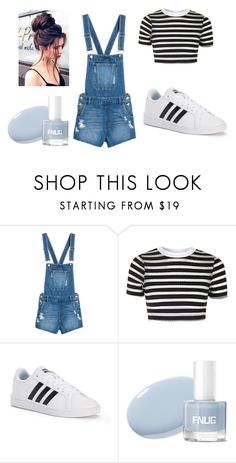 """School Cute"" by emmatheawesome on Polyvore featuring Topshop and adidas"