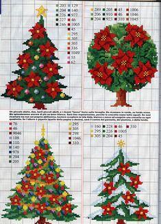 Love stitchin' X-mas trees!
