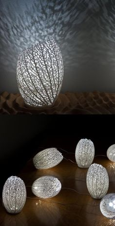 Mondays, Maggie Muses: Art and 3D Printing - Hyphae Lamps by Nervous System