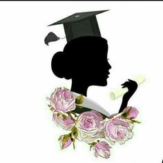 Graduation Images, Graduation Templates, Graduation Stickers, Graduation Party Decor, Graduation Cards, Graduation Drawing, Graduation Wallpaper, Flower Graphic Design, Eid Crafts