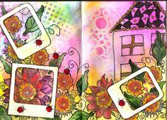 Creating is beautyful: Polaroid by WildeHilde