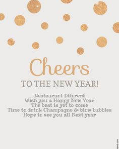Restaurant Diferent want to wish everybody a Sparkling Happy New Year!!! See you Next year  #champagne #newyear #restaurantmallorca #bestwishes #happynewyear #calador #mallorca #party #2017 #goodbye2016 #bubbles #loading2017 #happy