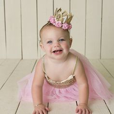 Birthday Lace Crown MINI Sienna crown by lovecrushcrowns on Etsy