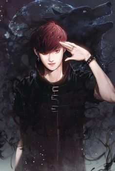 Tao FanArt. They should make a show of EXO (even with those who left) in anime.