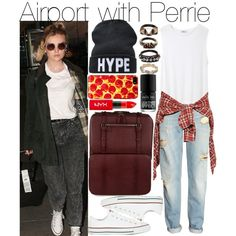 """""""Airport with Perrie"""" by praradise on Polyvore"""