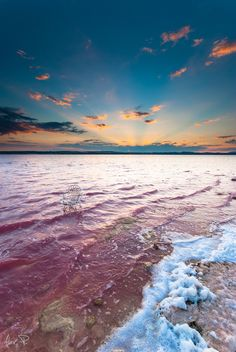 Torrevieja Salt Lagoons, amazing place to visit on the Spanish Mediterranean coast Beautiful Sunset, Beautiful World, Oh The Places You'll Go, Cool Places To Visit, Wonderful Places, Beautiful Places, Torrevieja, Pink Lake, Spain Travel