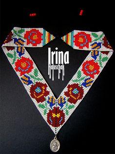 Adornos tradicionales Gerdan fueron engarzadas en una cinta y conectados con cuentas multicolores, formando un llamativo patrón original, complementando el bordado en las camisas. Este elemento del traje tradicional de mujeres ucranianas también era considerado una especie de amuleto.