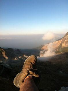 Gunung papandayan #paradise #mountain #papandayan #exploreindonesia