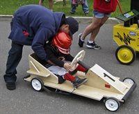 NASCAR Theme Event   Soapbox Car Racing
