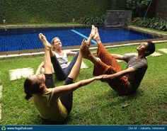 """Yoga Poses Around the World: """"Creating a temple"""""""