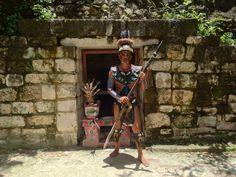 El Cedral Mayan ruins - Cozumel Mexico