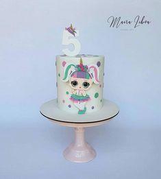 Little Mermaid Birthday Cake, The Little Mermaid, Lol Doll Cake, Funny Birthday Cakes, Doll Party, Lol Dolls, Cake Art, Themed Cakes, Fondant