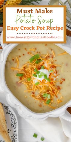 Potato soup that is gluten free? Yes you heard me right! Look no further than this absolutely delicious recipe and your whole family will love it!